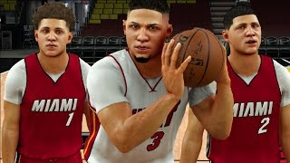 Which Ball Brother Can Hit A Full Court Shot The Fastest? NBA 2K17 Challenge