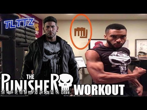 The Punisher Workout  Tough Like The Toonz: EP 31