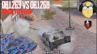 Obj.263 Vs Obj.268 World of Tanks Blitz