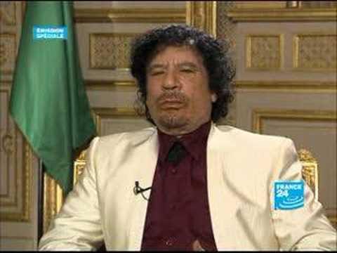Kadhafi Extrait Entretien Exclusif FRANCE24