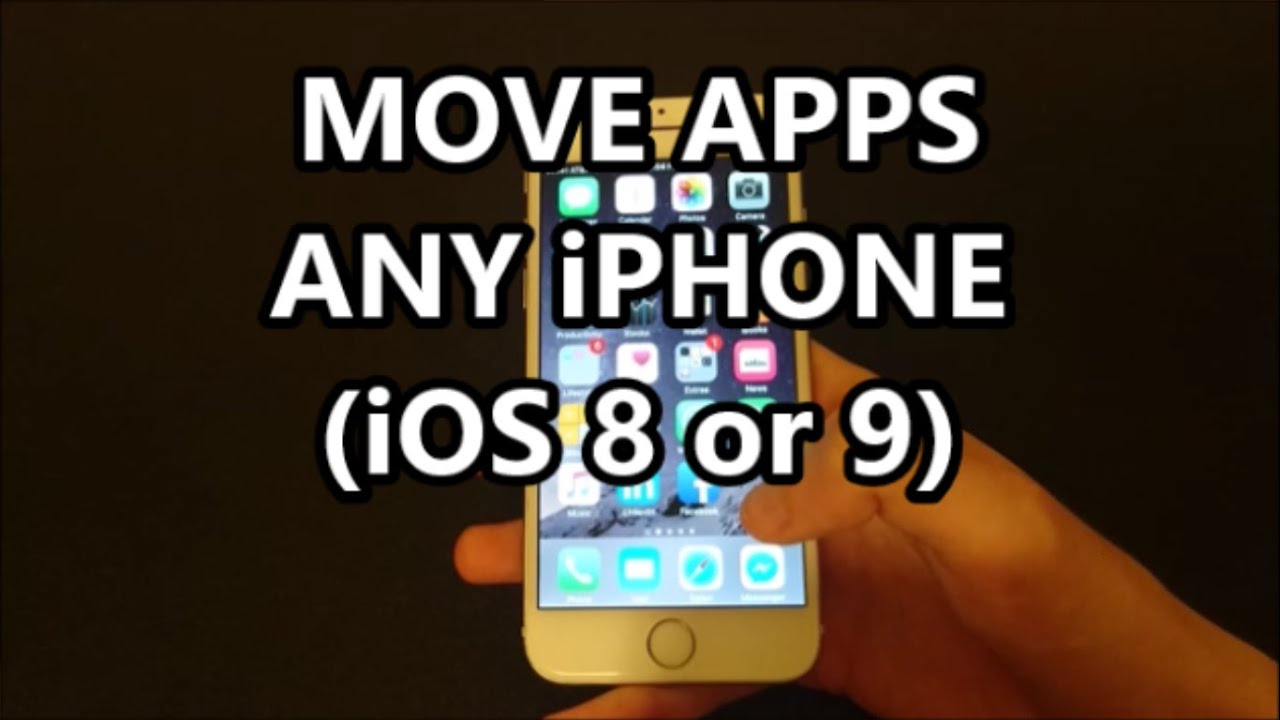 how to move app icons on iphone iphone 6s how to move apps icons rearrange apps 7402