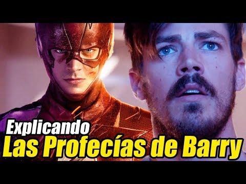 Las Profecías y Recuerdos de Barry Allen Explicados - The Flash Temporada 4 y 5