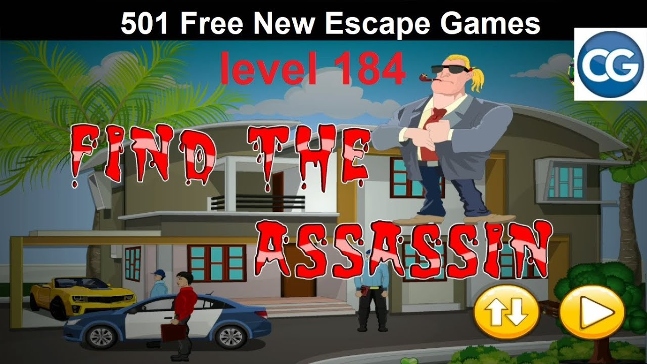 Walkthrough 501 Free New Escape Games Level 184 Find