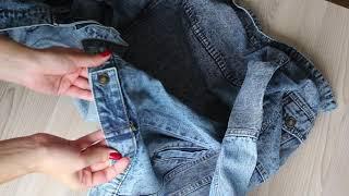 Обзор женской Джинсовой куртки с Алиэкспрес. Как-то даже неловко..