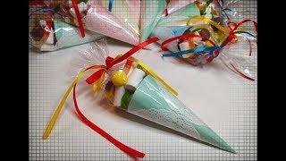 СЛАДКИЕ КУЛЬКИ ЗА 1 МИНУТУ. Как сделать сладкий подарок своими руками