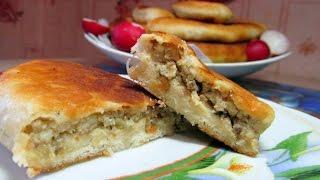 Пирожки на кефире и дрожжах