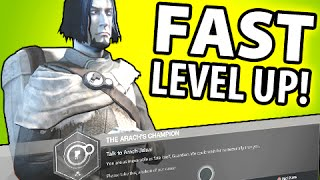 DESTINY FASTEST WAY TO LEVEL UP FACTIONS!