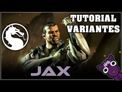 Mortal Kombat X (PS4), Tutorial de variantes - JAX - Español