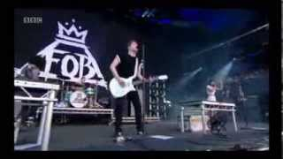 Repeat youtube video Fall Out Boy FT Foxes  Just One Yesterday Live Reading