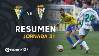 Resumen de Cádiz CF vs Córdoba CF (1-1)