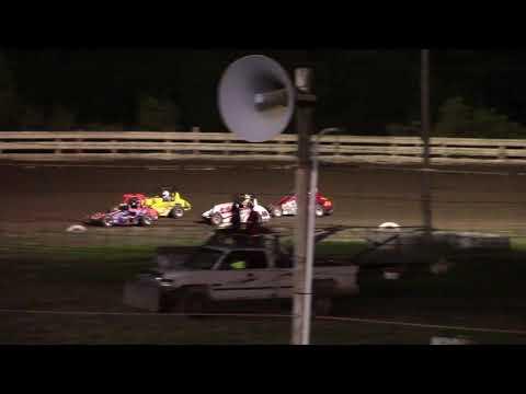 Hummingbird Speedway (8-24-19): Young Guns Jr Sprints - Stock Class Feature