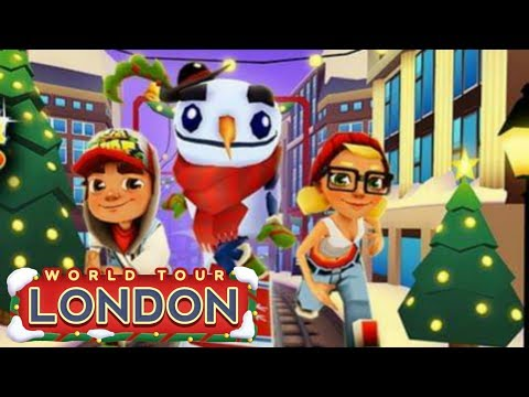 ⛄ Subway Surfers London 2014 🎄