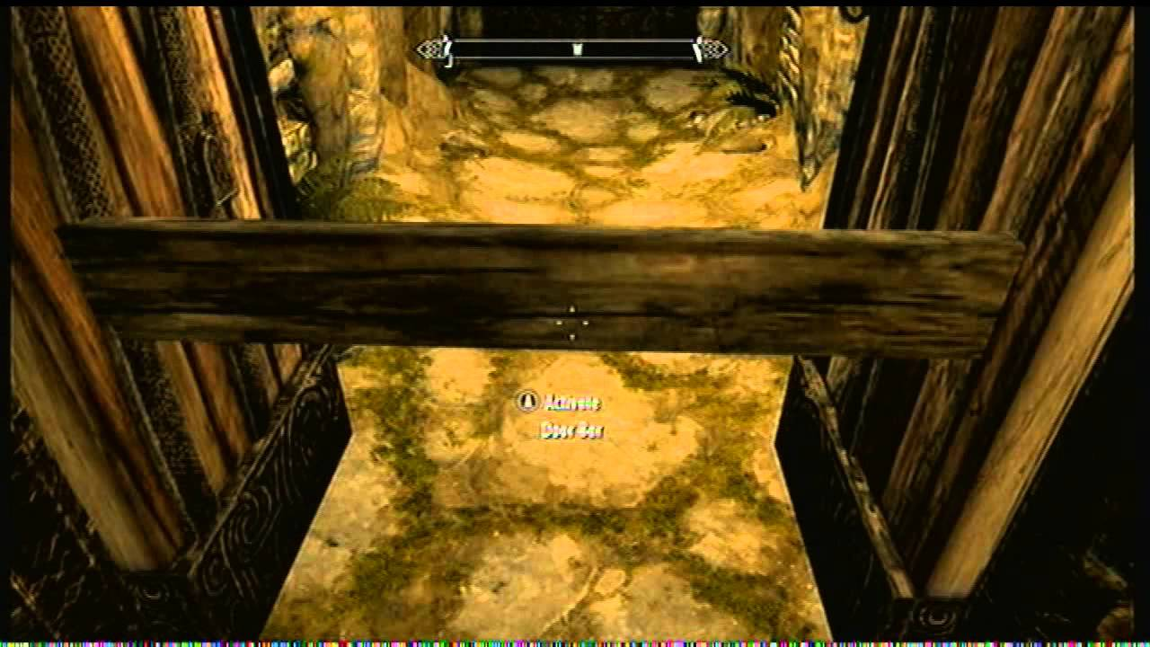& Skyrim Barred Door Glitch - YouTube