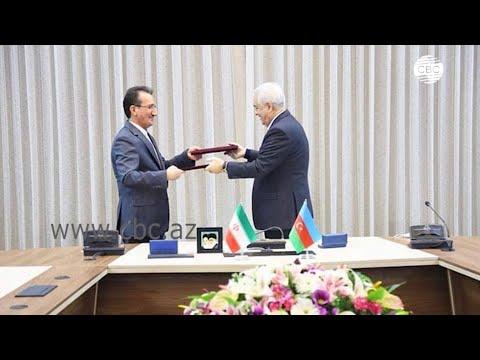 Азербайджан и Иран подписали соглашение о сотрудничестве в сфере железнодорожного транспорта