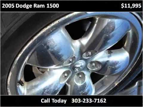 2005 dodge ram 1500 used cars lakewood co youtube for Happy motors inc lakewood co