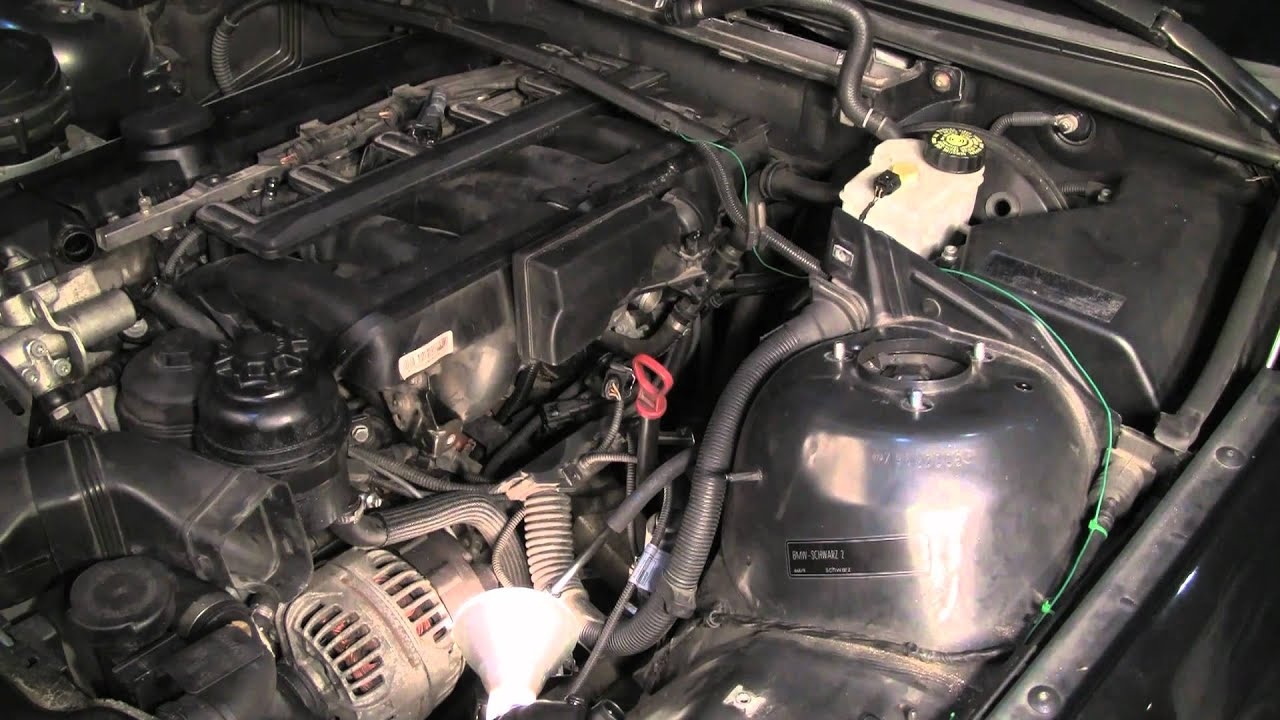Replacing the BMW M54 Crankcase Ventilation System, Part 2 of 3  YouTube