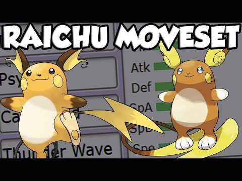 Pokemon Let's Go Raichu Moveset! How To Use Raichu In Pokemon Let's Go