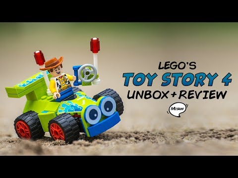 Unboxing + Review - Lego Toy Story 4 Woody & RC