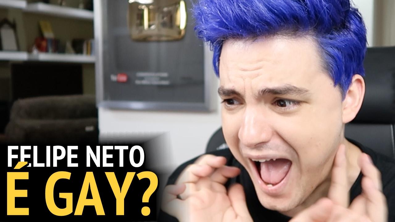 FELIPE NETO É GAY? [+13] - YouTube Felipe Neto