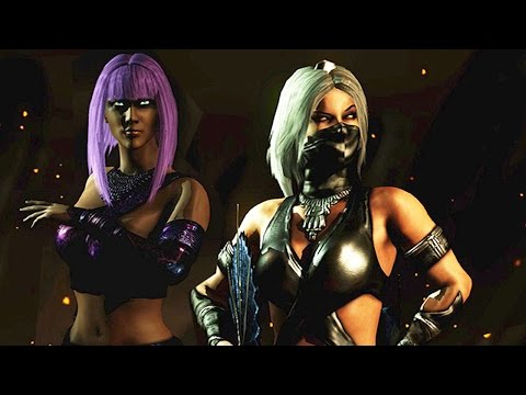 Mortal Kombat X Kitana Mileena Tanya Alternative Dimension