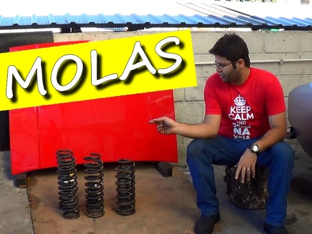 DIFERENÇA ENTRE MOLAS DE OPALA