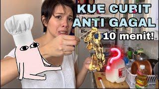 Gambar cover Chef Pemalas: RESEP MASAK KUE CUBIT ANTI GAGAL DALAM 10 MENIT!
