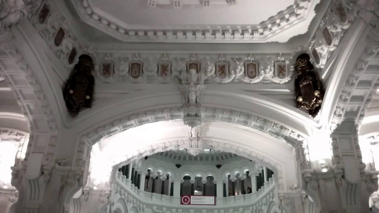 Visita Al Palacio De Cibeles De Madrid Sala De Arte Centrocentro