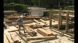 """the Winch Oak Frame"" Large Oak Extension In Cranleigh, Surrey Uk"