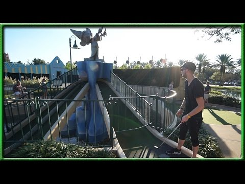 DISNEY WORLD HAS THE GREATEST MINI GOLF COURSE IN THE WORLD!