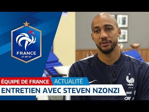 Equipe de France : Steven Nzonzi en interview à Istra I FFF 2018