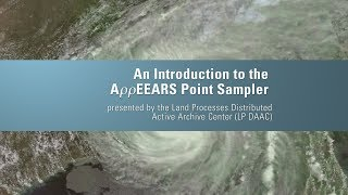 An Introduction to the AppEEARS Point Sampler