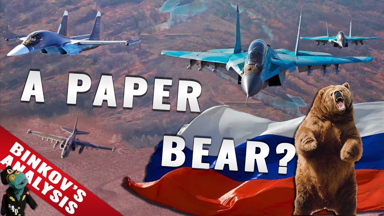 Do modern Russian Air Forces have a big problem?