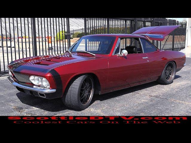 1966 Chevrolet Corvair LS Swap Mid Engine Autocross  2018 Summit Racing Equipment Atlanta Motorama