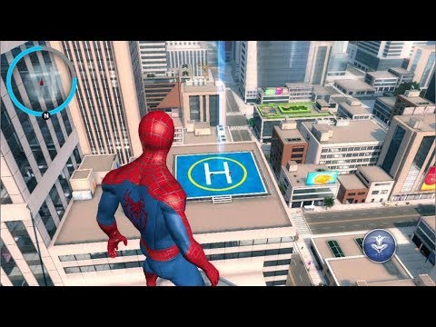 Spiderman  In real life - Animation movie Spiderman finds the robot