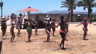 Amwaj Blue Beach Resort & Spa - July 2014 - Beach Belly Dance Thumbnail