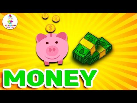 Learn about Money for Kids, Money, Currency, Kindergarten Money, Money Children, US Money, Kids Math