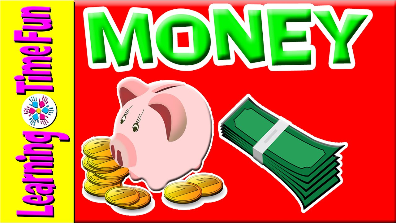 Learn About Money For Kids Currency Kindergarten Children Us Math