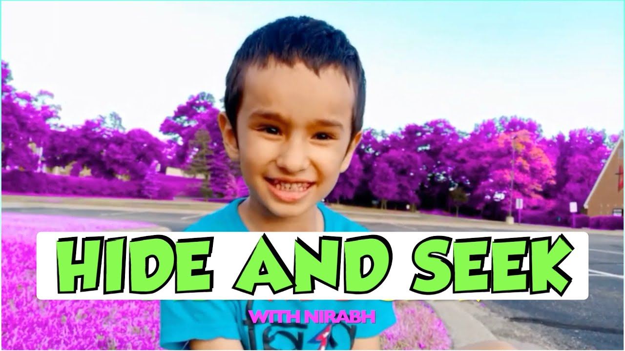 Extreme Hide and Seek with Nirabh in the Purple Woods!