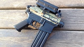 Shortest AEG AR Is Even Shorter: Airsoft Pistol Conversion