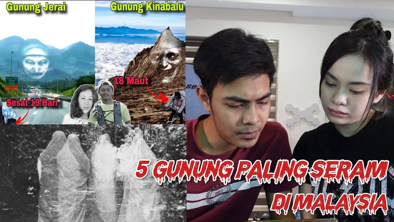 React 5 Gunung Paling Seram Di Malaysia !!! Berani Ke Nak Pergi ??