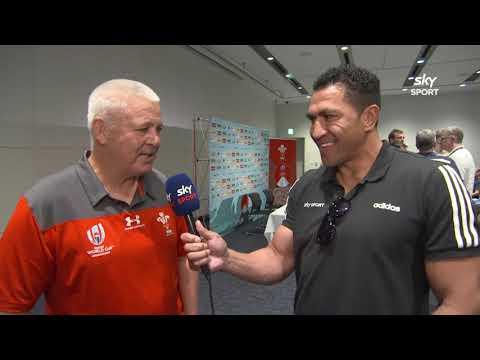 Warren Gatland on RWC and Super Rugby