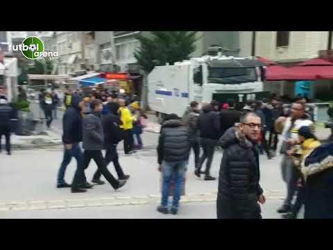 Fenerbahçe - Alanyaspor maçı öncesi stat çevresi