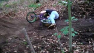 Beim BMX fahren Eingeschissen