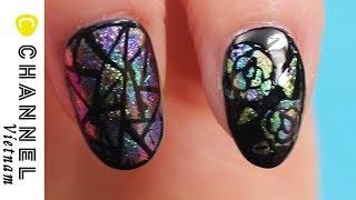 Nail nghệ thuật ánh metallic