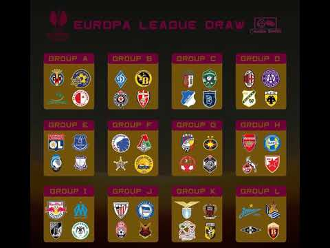 Uefa europa league draw 2017/2018