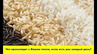 Что произойдет с Вашим телом, если есть рис каждый день?