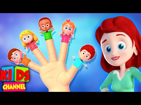 Finger Family Song | Nursery Rhymes And Cartoon Videos - Kids Channel