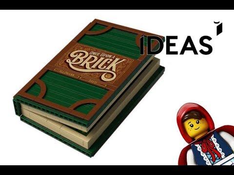 LEGO IDEAS Pop-Up-Buch (21315) - Speed build