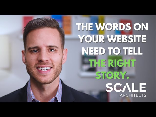 The words on your website need to tell the right story