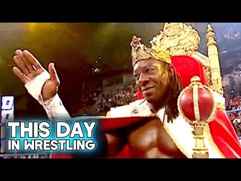 This Day In Wrestling: Booker T Becomes King Bookaaaahhhh! (May 21st)